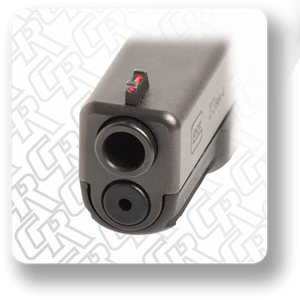 "Picture of RHT ""SD"" Glock Fiber Sight Set"